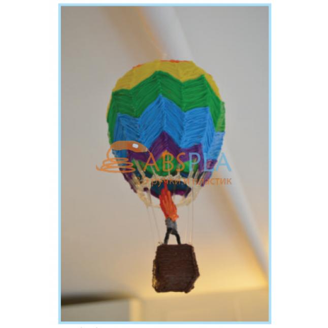 Воздушный шар - шаблон трафарет для 3Д ручки