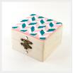 Шкатулка для украшений - шаблон трафарет для 3Д ручки