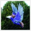 Птица - шаблон трафарет для 3Д ручки
