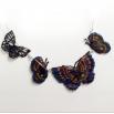 Ожерелье из бабочек - шаблон трафарет для 3Д ручки