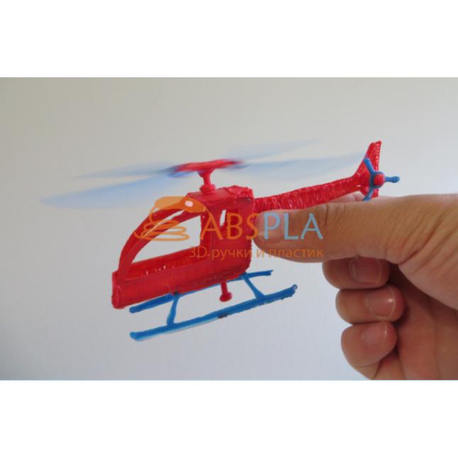 Вертолет - шаблон трафарет для 3Д ручки
