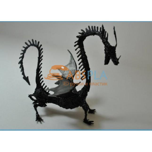 Дракон - шаблон трафарет для 3Д ручки