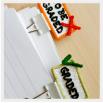 Разделитель для бумаг - шаблон трафарет для 3Д ручки