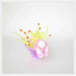 Пасхальный кролик - шаблон трафарет для 3Д ручки