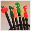 Колпачки для карандашей - шаблон трафарет для 3Д ручки
