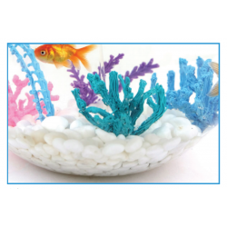Коралл - шаблон трафарет для 3Д ручки