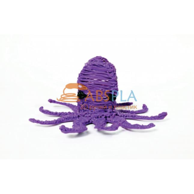 Осьминог - шаблон трафарет для 3Д ручки