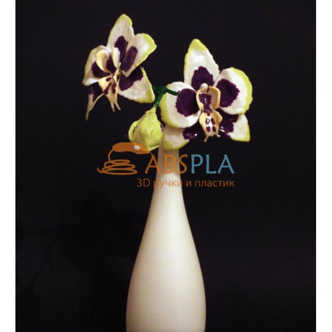 Орхидеея - шаблон трафарет для 3Д ручки