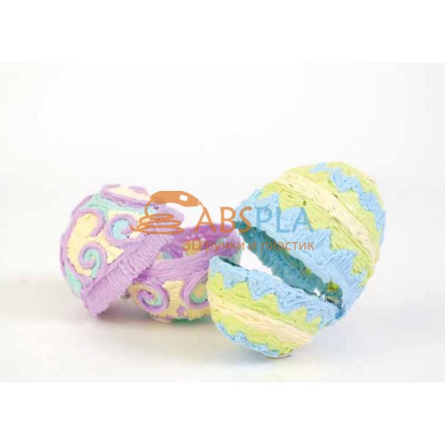 Пасхальные яйца - шаблон трафарет для 3Д ручки