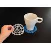 Подставка под кружку - шаблон трафарет для 3Д ручки