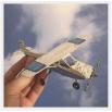 Самолет - шаблон трафарет для 3Д ручки