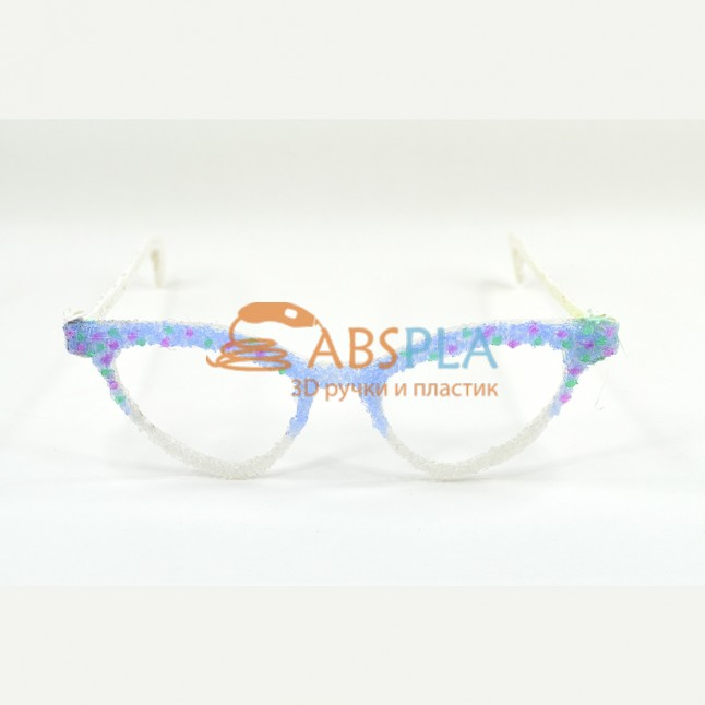 Красивые очки - шаблон трафарет для 3Д ручки