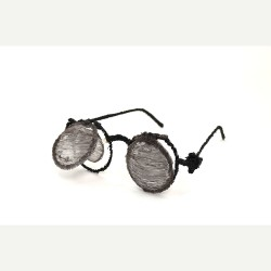 Стимпанк очки - шаблон трафарет для 3Д ручки