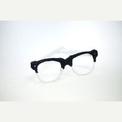 Модные очки - шаблон трафарет для 3Д ручки