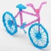Велосипед - шаблон трафарет для 3Д ручки