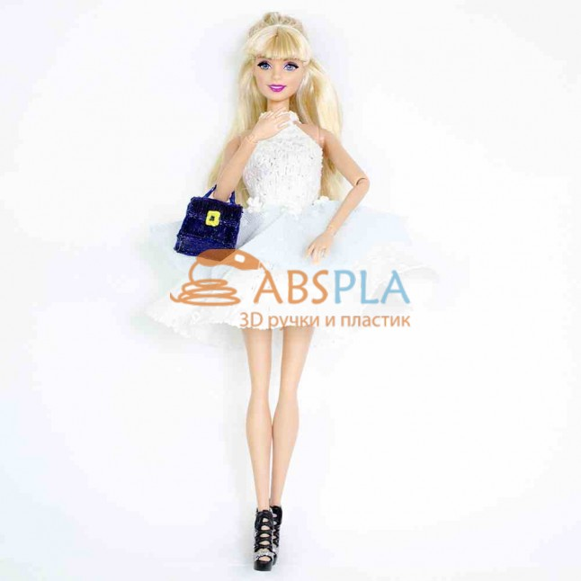 Одежда для куклы Барби - шаблон трафарет для 3Д ручки