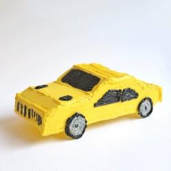 Машинка - шаблон трафарет для 3Д ручки