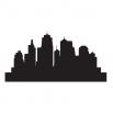 Городские горизонты - шаблон трафарет для 3Д ручки