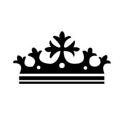 Корона - шаблон трафарет для 3Д ручки