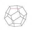 Додекаэдр - шаблон трафарет для 3Д ручки