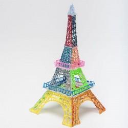 Эйфелева Башня - шаблон трафарет для 3Д ручки