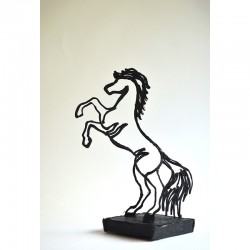 Лошадь - шаблон трафарет для 3Д ручки