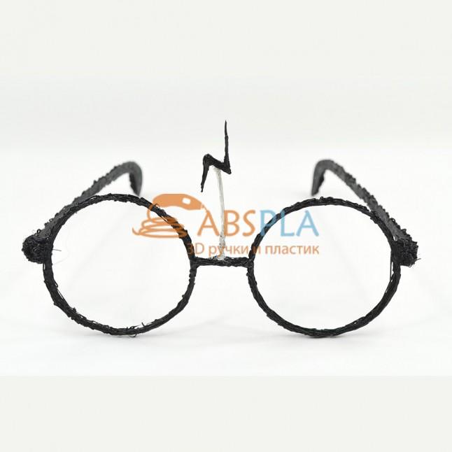 Очки Гарри Поттера - шаблон трафарет для 3Д ручки