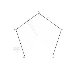 Икосаэдр различных размеров - шаблон трафарет для 3Д ручки