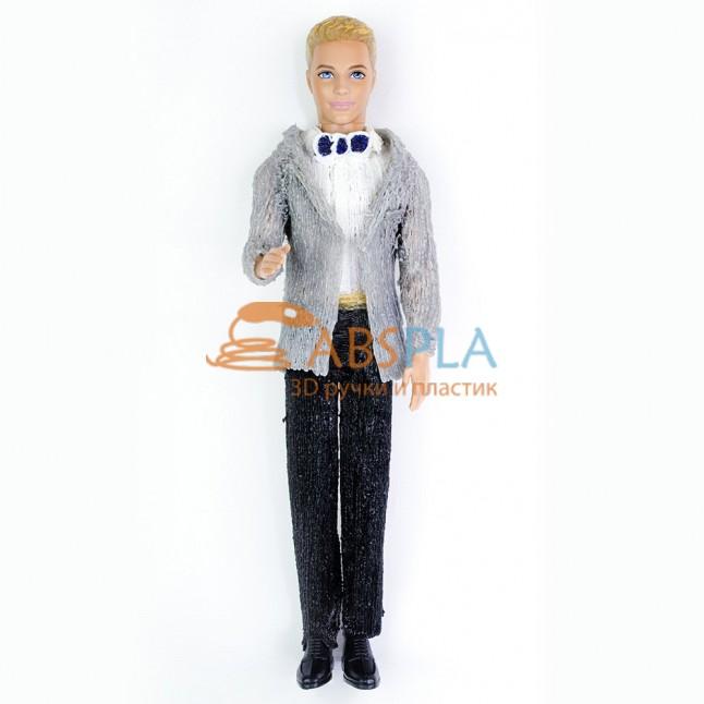 Одежда для куклы Кена - шаблон трафарет для 3Д ручки