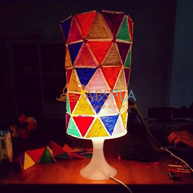 Абажур для лампы - шаблон трафарет для 3Д ручки