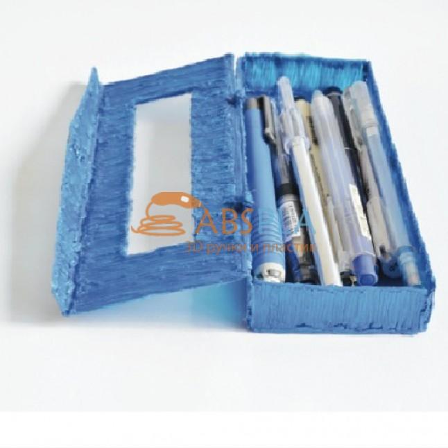 Пенал с крышкой - шаблон трафарет для 3Д ручки