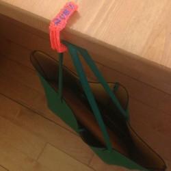 Крючок для сумок - шаблон трафарет для 3Д ручки