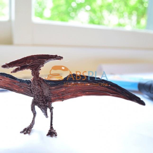 Птеродактиль (птерозавр) - шаблон трафарет для 3Д ручки