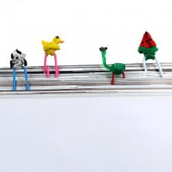 Украшения для скрепок - шаблон трафарет для 3Д ручки