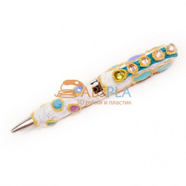 Украшение для ручки или карандаша - шаблон трафарет для 3Д ручки