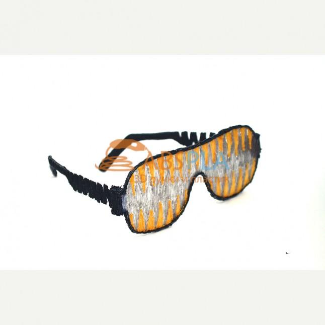 Очки для вечеринки - шаблон трафарет для 3Д ручки