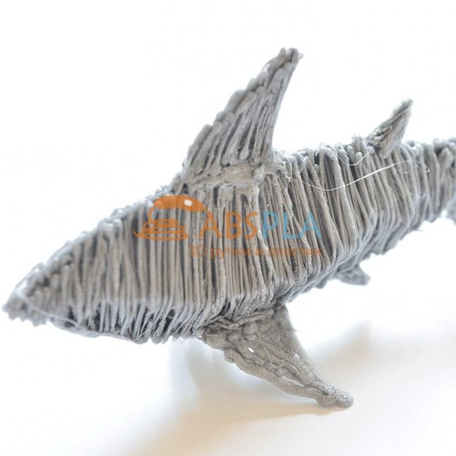 Акула - шаблон трафарет для 3Д ручки