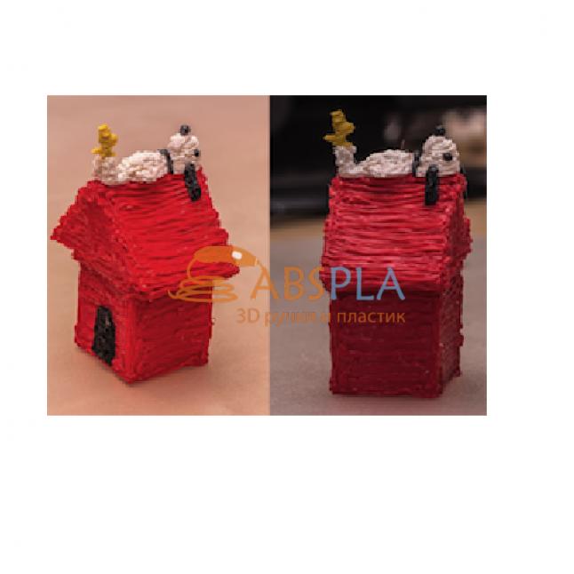 Собачья будка - шаблон трафарет для 3Д ручки