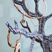 Держатель для украшений в виде дерева - шаблон трафарет для 3Д ручки