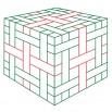 Плетеная коробочка - шаблон трафарет для 3Д ручки