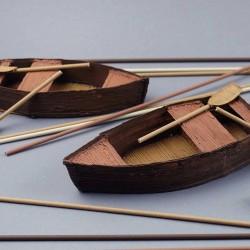 Гребные лодки - шаблон трафарет для 3Д ручки