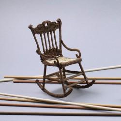 Кресло-качалка - шаблон трафарет для 3Д ручки
