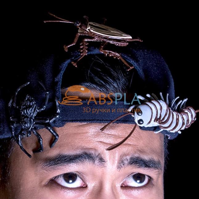 Чудовища на голову - шаблон трафарет для 3Д ручки