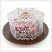 Крышка для продуктов - шаблон трафарет для 3Д ручки