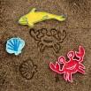 Морские фигуры - шаблон трафарет для 3Д ручки