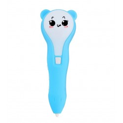 3D ручка D8 PRO - голубая