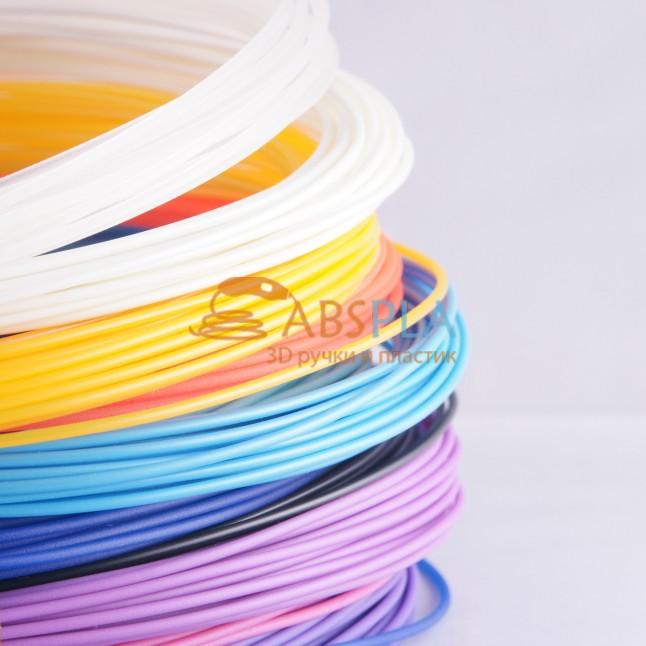 Набор цветного PLA пластика для 3D ручки 110 метров, 11 цветов