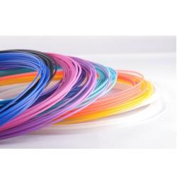 Набор цветного PLA пластика для 3D ручки 55 метров 11 цветов
