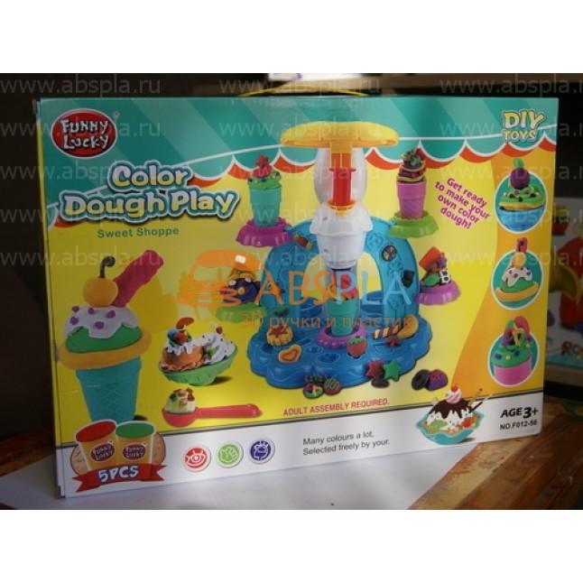 """Игровой набор Color Dough Play """"Фабрика мороженого"""""""