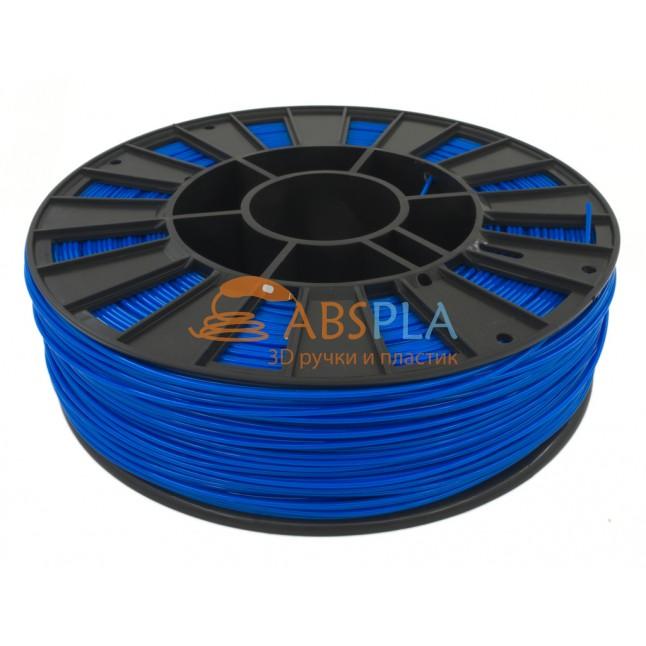 Синий PET-G пластик 300м. на катушке